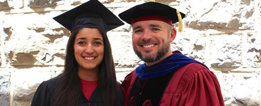 Valentina Allasam graduates!