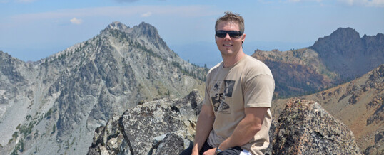 Dr. Brian Todd, former postdoc in the Hopkins Lab, is tenured